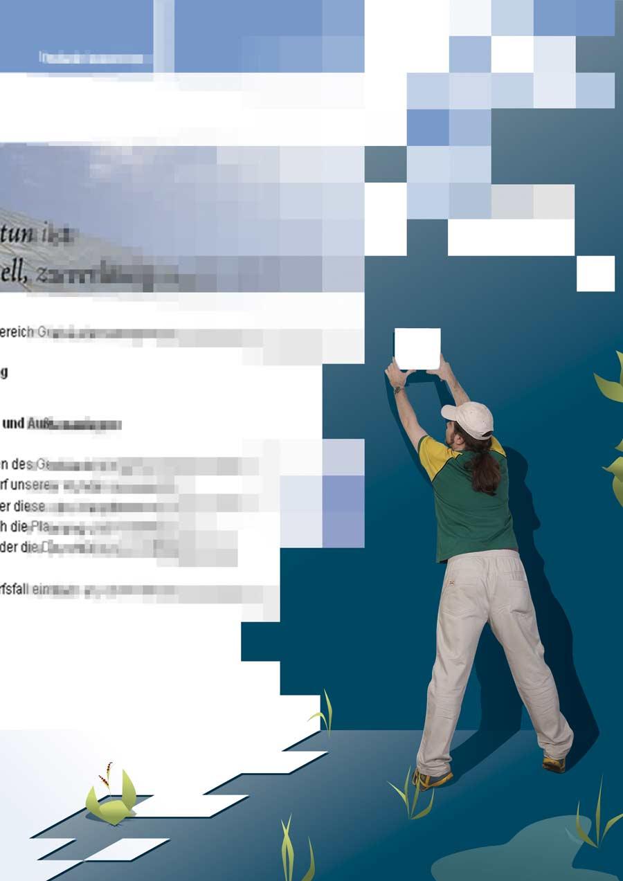 Webdesign: Aus Pixeln wird Wirklichkeit