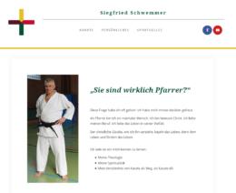 Screenshot der Webseite siegfried-schwemmer.de